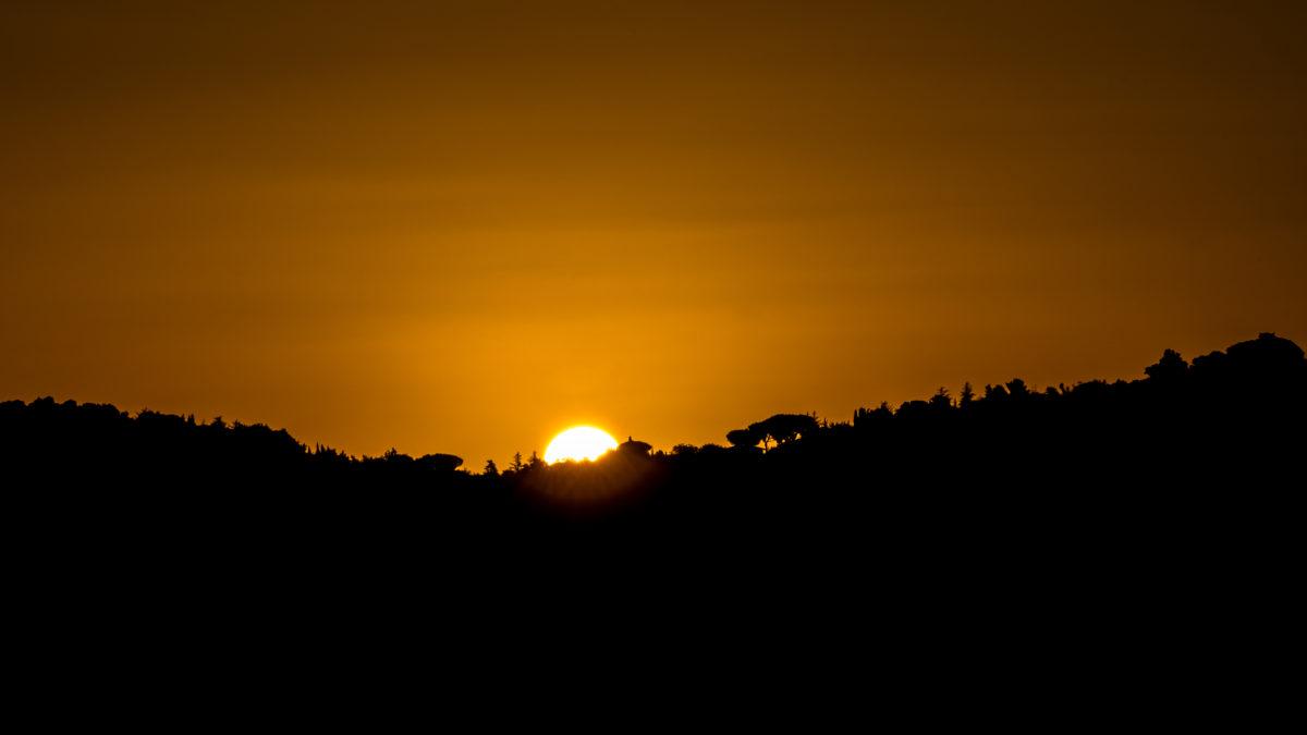 Il calar del sole o forse il suo sorgere?