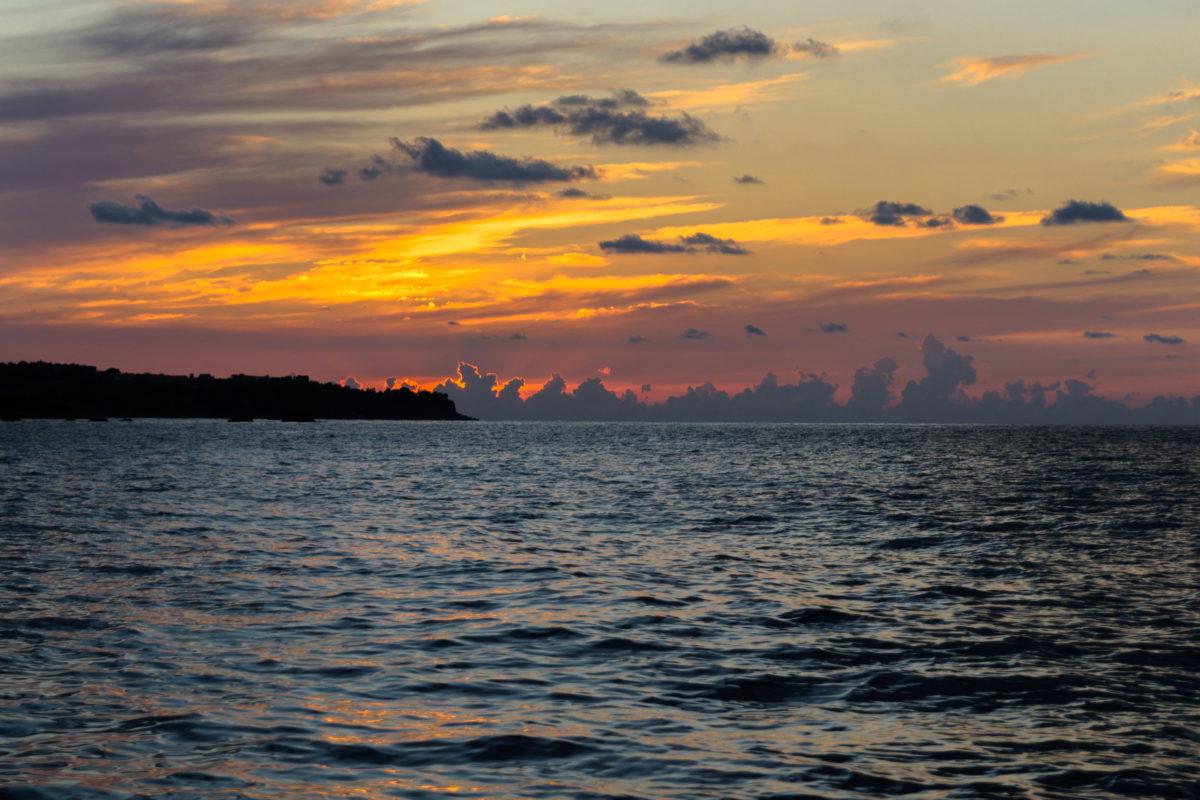 Disegno al tramonto